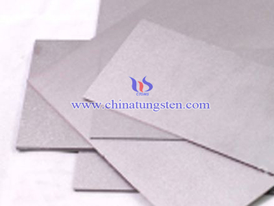 tungsten alloy sheet image